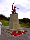 Welsh dragon memorial, Picardy